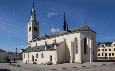 Singing - organ concert in Kašperské Hory (CZ)