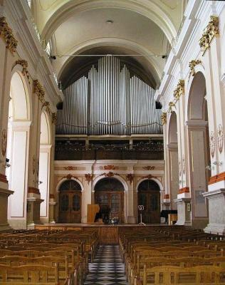 Organ recital in Lvov (UKR)
