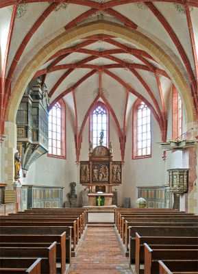Orgel Musik in St. Marienkirche Rötha (DE)