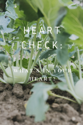 Heart Check: What's in your garden?