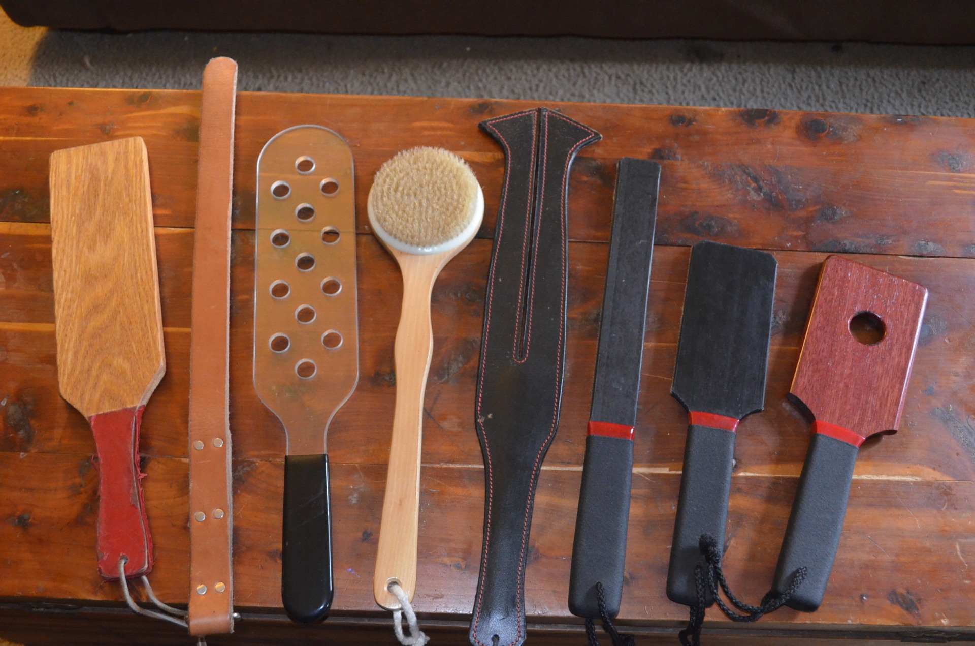 Stages of implements