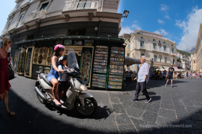 Scooting around the Amalfi Coast