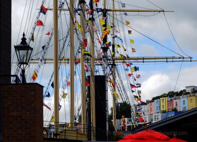 At Bristol Harbour