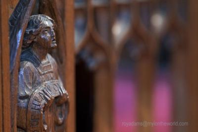 Inside All Saints Church In The Heart Of Devon