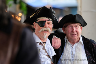 At Brixham Pirate Festival 2018