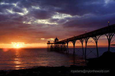 The Light @ Clevedon Pier