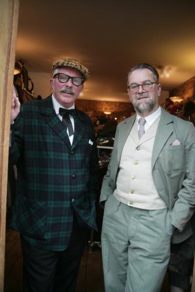 Ian Johns and Ian Bodenham