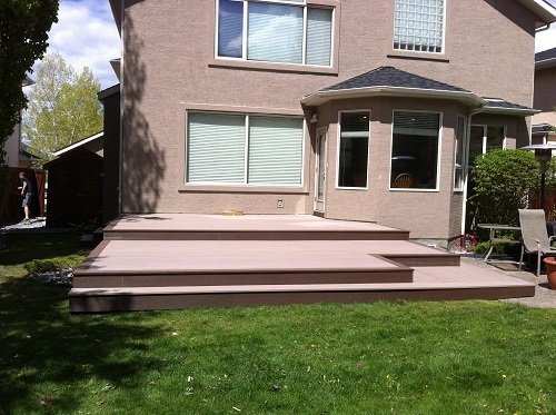 Multi level Composite Calgary Deck