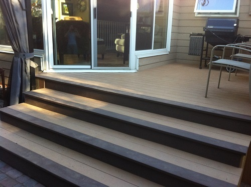 Two Tone Composite Stairs
