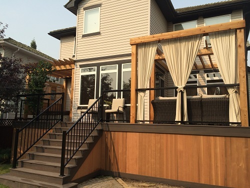 Calgary deck design