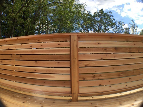 Calgary Cedar Privacy Screen
