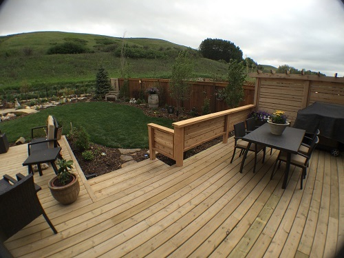 Calgary Backyard Design