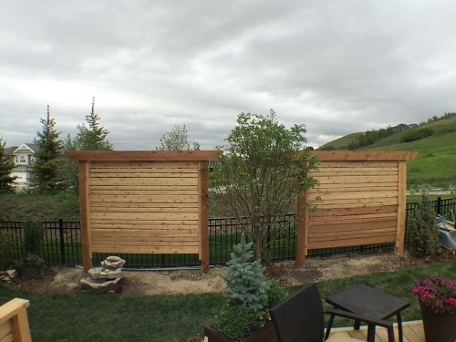 Double Cedar Privacy Features