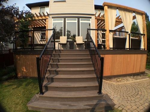 Open Deck Staircase