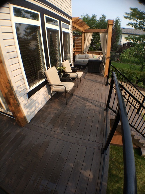 Composite Deck and Rail