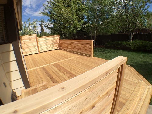 Calgary Cedar Deck and Railing