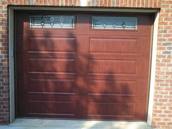 Cherry Garage door