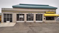 Meineke Glass Garage Doors