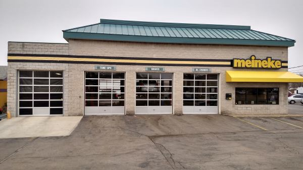 Meineke garage door