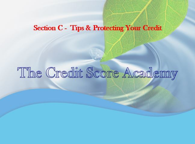 Tips & Protecting Your Credit
