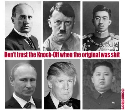 Trifecta of Evil meme