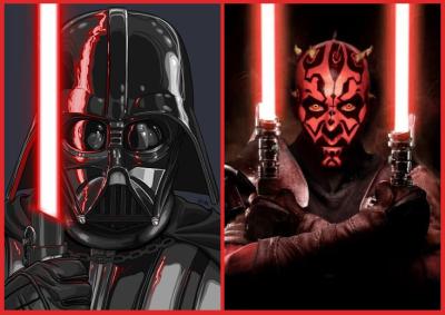 Darth Vader Vs. Maul