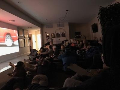 Movie Night with Gamma Phi Epsilon