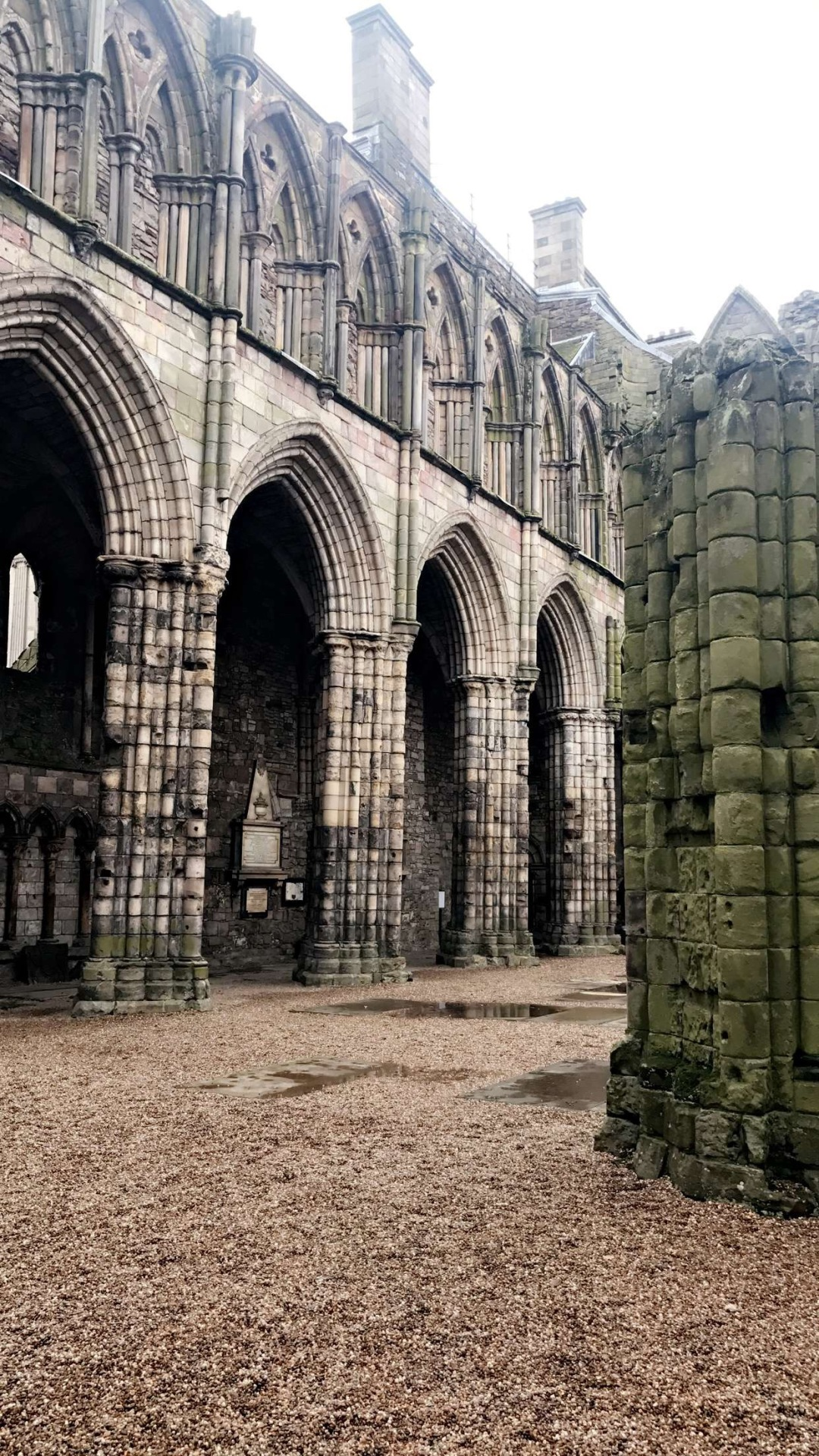 The Abbey at Holyrood