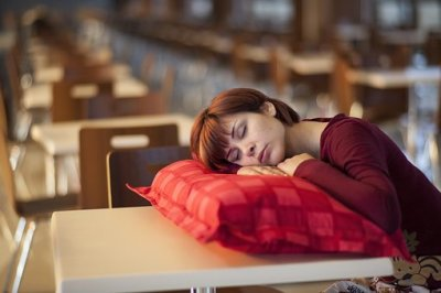 A Women Sleeping