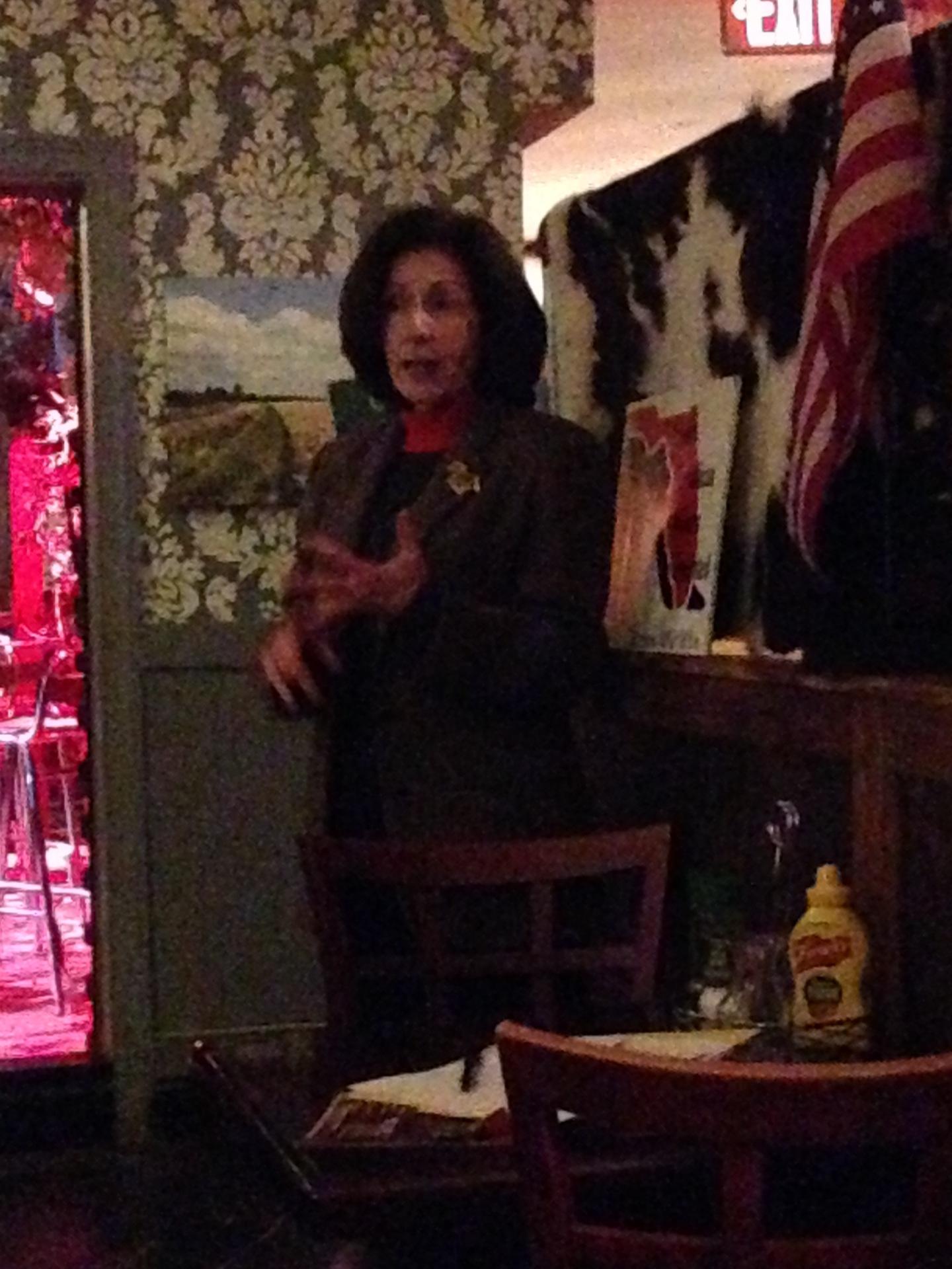 Hillsborough Republican Chair Deborah Tamargo.