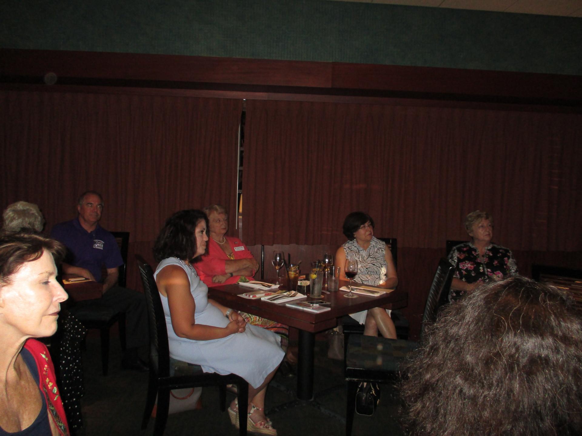 RPOF staff visit our meetings!
