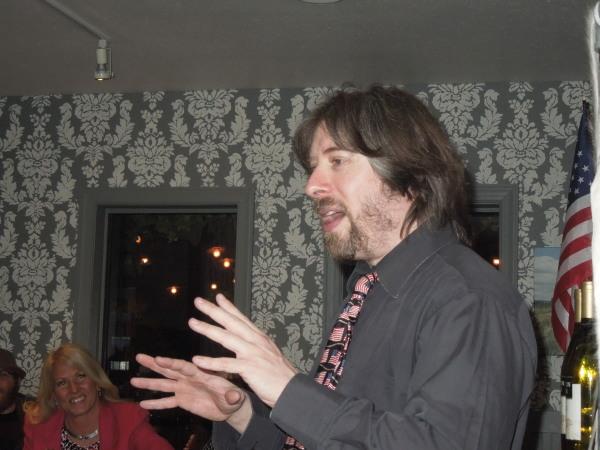 Eric Golub of TYGRRRR EXPRESS