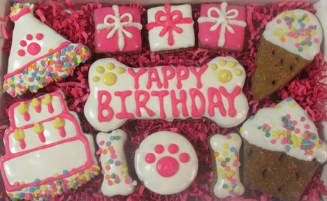 Yappy Birthday Pink Gift Box