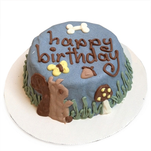 CUSTOM Squirrel Cake