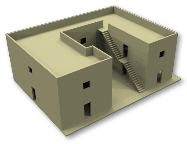 First Draft of 3D Rendering