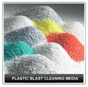 Plastic Blast Cleaning Media