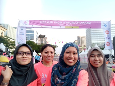 MAKNA Founders Night Run 2017