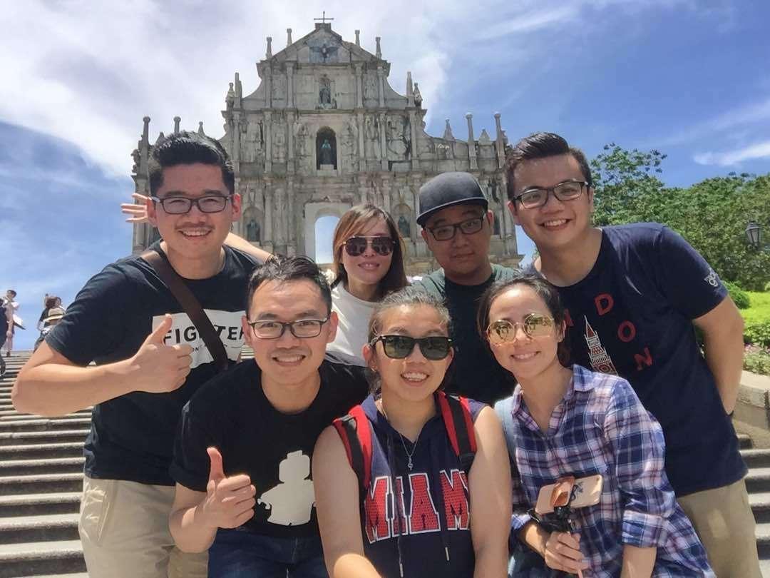 Finance Department Company Trip to Macau