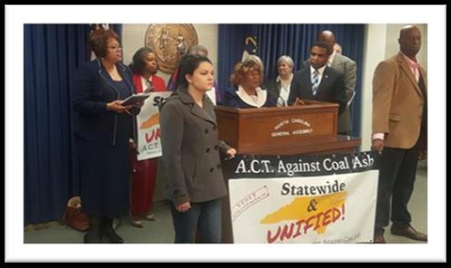 Coal Ash Press Conference