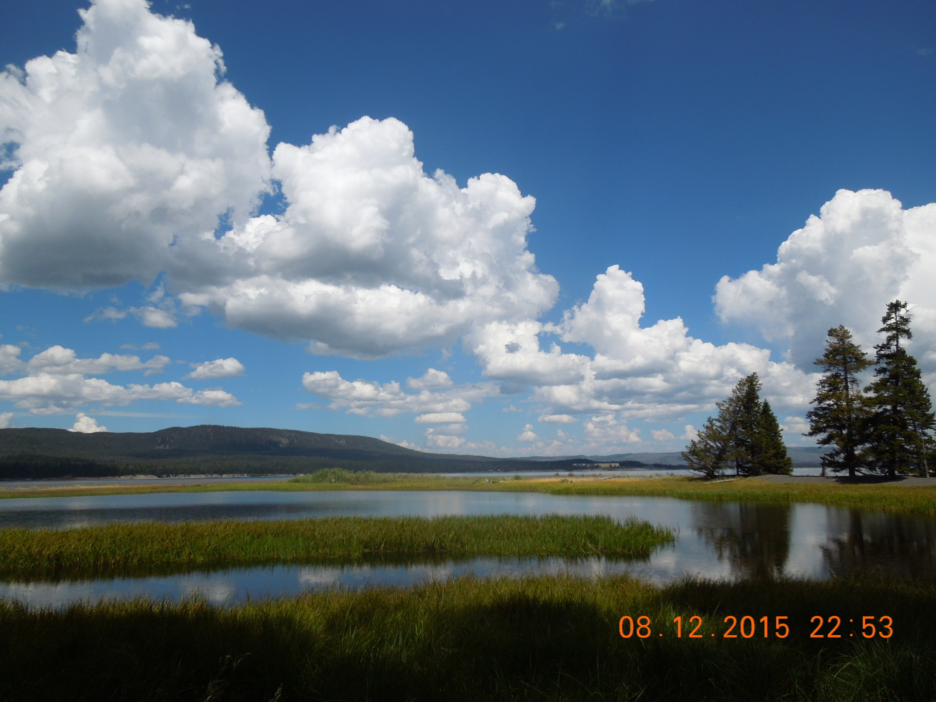 Yellowstone Lake Area