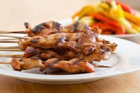 Terriyaki Chicken Skewers