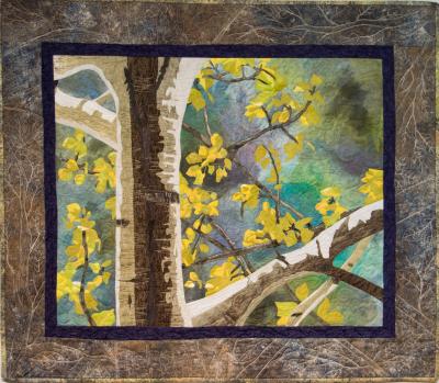 Pictorial quilts, art quilts , fiber art