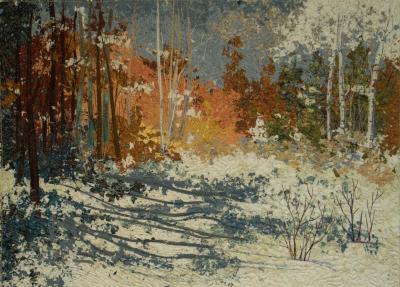 Confetti quilt, Art Quilt