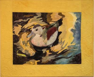 Pictorial quilt, Art quilt