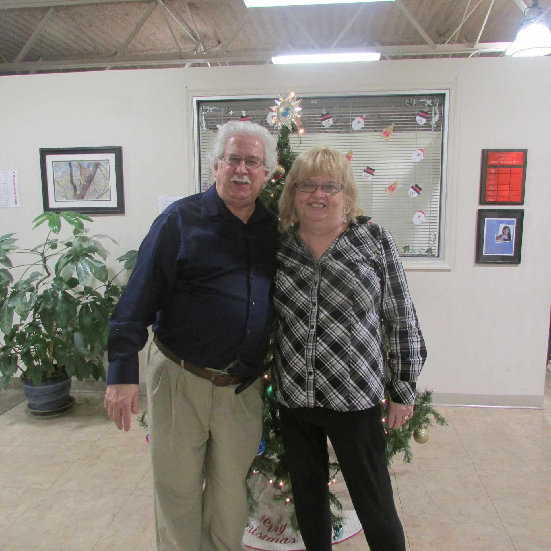 Co-founders George & Therese Gwilliam