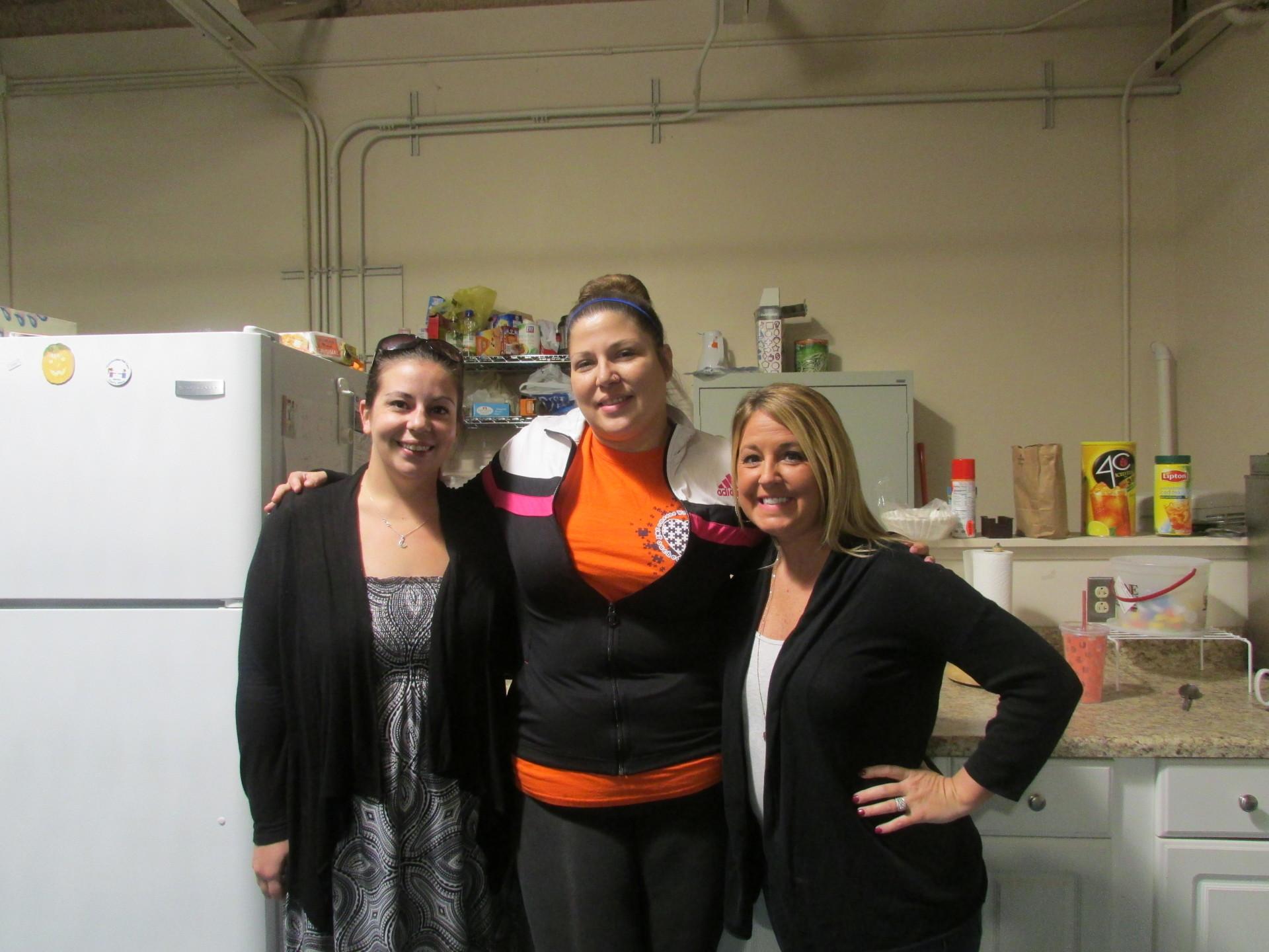 Kayla, April, & Melissa