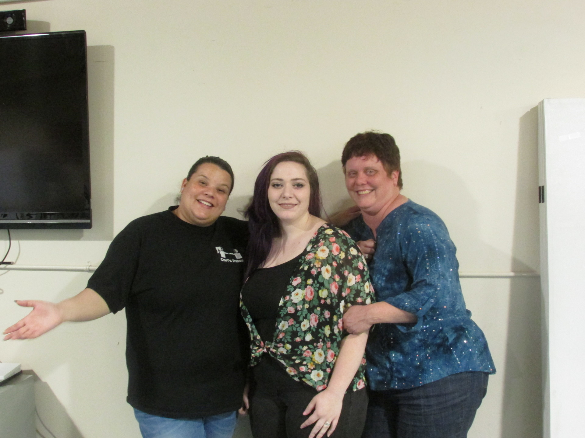 Victoria, Sara, & Erica