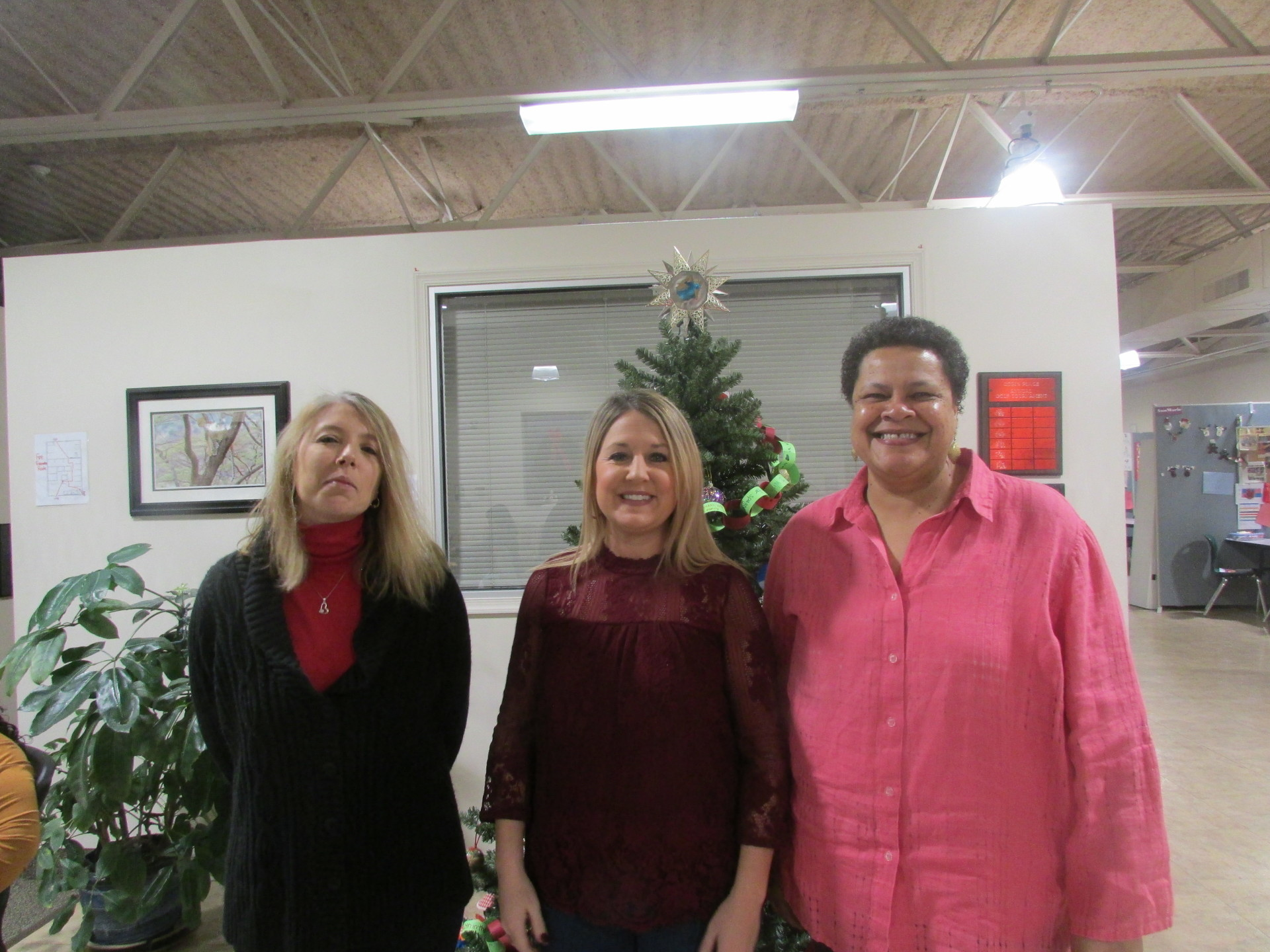 Julie, Melissa (again), & Ife