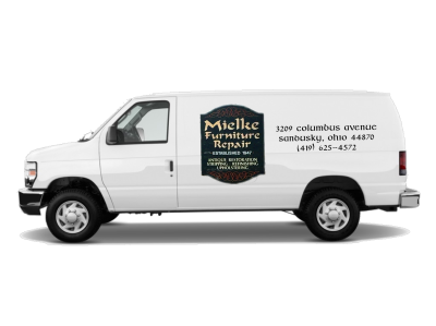 Mielke Furniture truck