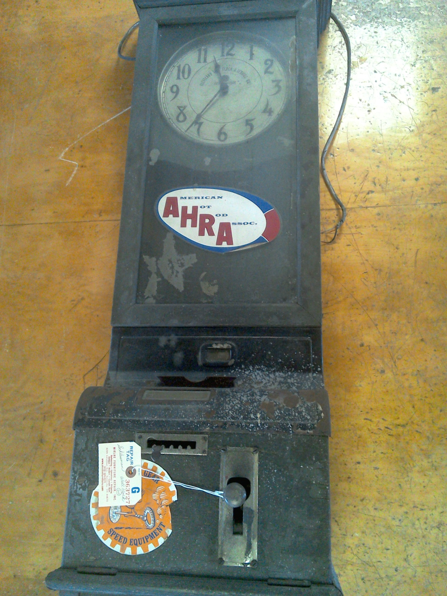 Restored time clock